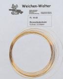 Bronzefederdraht 0.2 mm/10 Meter
