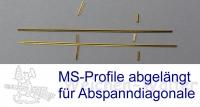 Bauteile Abspanndiagonale