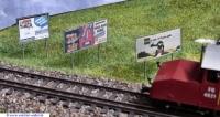 Werbetafel Schweiz Format 2 x F4