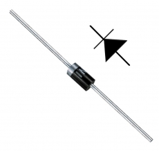 Universaldiode 1 N 4001