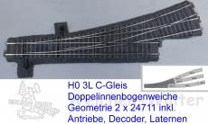 DIBW asymetrisch Märklin C-Gleis
