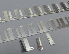 Gleitplatten geätzt 18 Stück