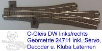 DW asymetrisch Märklin 24711/24712