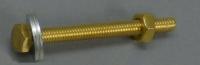 Schraubensatz Messing M4 x 40