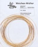 Bronzefederdraht 0.3 mm/50 Meter