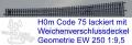 EW  250 1:9,5  -  H0m: r2874 mm/6°