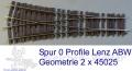 ABW Geometrie  Lenz 2 x 45025