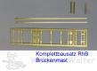 H0m RhB Brückenmast Bausatz