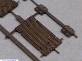 5 Weichenverschlußdeckel H0/H0m Ätzteile