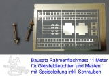 Bausatz 2 Rahmenflachmasten 11 Meter