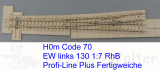 EW  80 1:7  -  H0m: r920 mm/8°