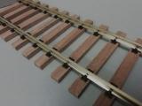 Holzschwellengleis 0 Länge 90 cm