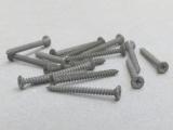 100 Mini-Holzschrauben 1,4x15