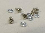 5 Schrauben M2 x 5 mit Muttern
