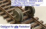 3rail-flextrack wooden ties code83 kit
