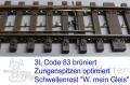 3L - Bogenweiche  Code 83/Weinert mein Gleis