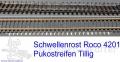 Punktkontaktstreifen für Tillig/Roco
